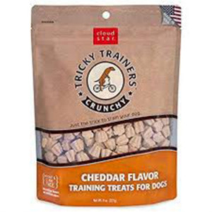 Cloud Star Crunchy Tricky Trainers Cheddar Dog Treats