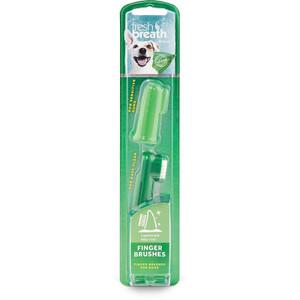 Tropiclean Fresh Breath Finger Brushes For Dogs