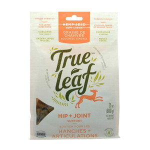 True Leaf Pet Hemp Hip and Joint Chews for Dogs 21 oz.
