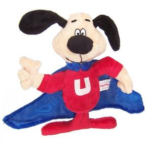 Multipet Talking Underdog dog toy