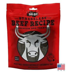 GoGo Stressless Beef USA dog jerky bars 12 oz.