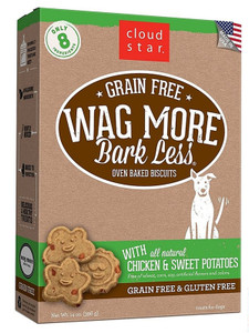 Wag More Bark Less Baked Grain Free Chicken and Sweet Potatoes
