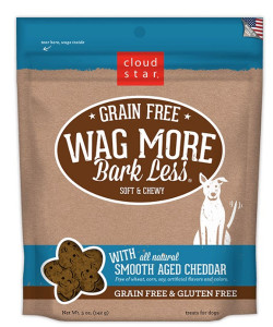 Clouds tartar Wag More Bark Less Soft and Chewy Cheddar treats