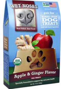 Wet Noses Organic Apple & Ginger Dog Treats 14 oz.