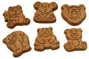 Wet Noses Apple Cinnamon Bears Dog Treats 4 oz.