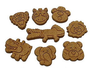 Wet Noses Sweet Potato Jungle Animals Dog Treats 4 oz.