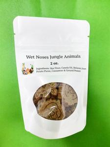 Wet Noses Sweet Potato Jungle Animals Dog Treats 2 oz.