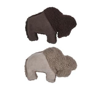 West Paw Big Sky Bison dog toy