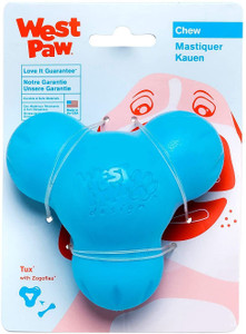 West Paw Tux Large Aqua USA Dog Toy