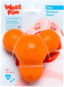 West Paw Tux Treat Toy Large Tangerine