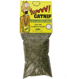 Yeowww Seriously Potent Organic Catnip 1 oz.