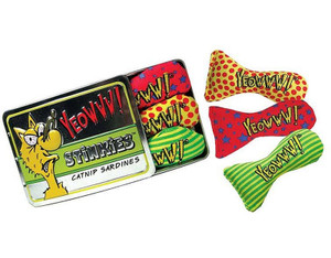 Yeowww Catnip Tin Of Stinkies Catnip Sardines (3 pk)