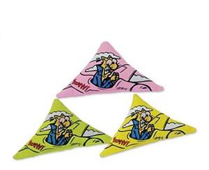Yeowww Catnip Purrmuda Triangle Cat Toy