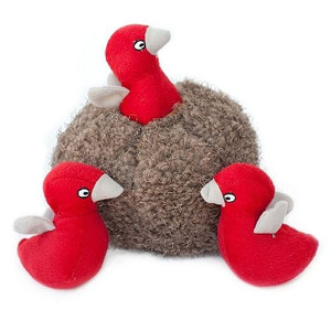 Zippy Burrow Bird Nest dog puzzle toy