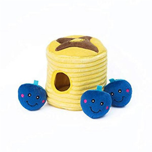 Zippy Burrow Blueberry Pancakes Dog toy