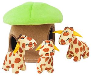 Zippy Paws Giraffe Lodge Dog Puzzle Toy