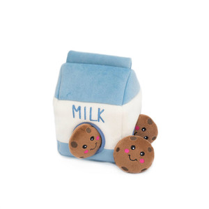 Zippy Burrow Milk and Cookies dog puzzle toy