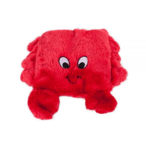 Zippy Paws Squeakie Pad Crab dog toy