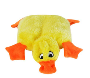 Zippy Paws Squeaky Pad Duck dog toy