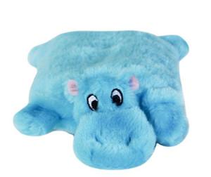 Zippy Paws Squeaky Pad Hippo Dog Toy