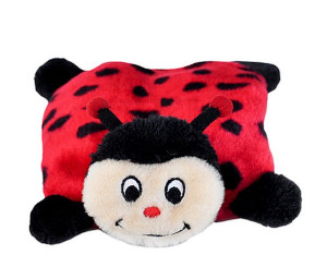 Zippy Paws Squeaky Pad Ladybug dog toy