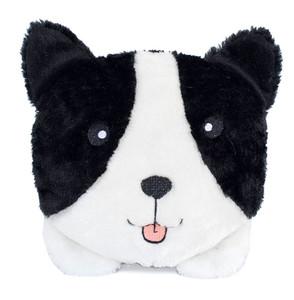 Zippypaws Squeakie Buns Border Collie Dog Toy
