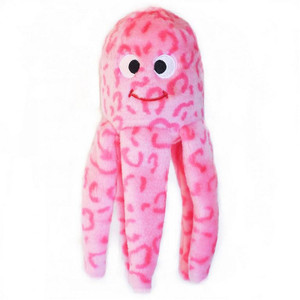 ZippyPaws Squeakie Floppy Jelly Dog Toy