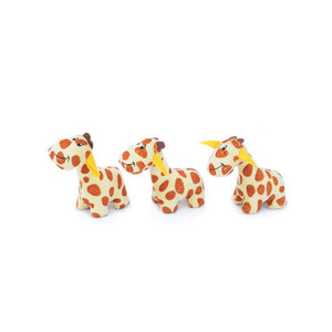 ZippyPaws Miniz Giraffes Dog Toys 3 Pack