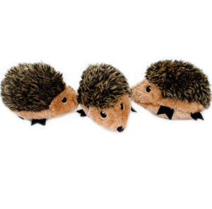 ZippyPaws Miniz Hedgehogs Toys 3 Pack