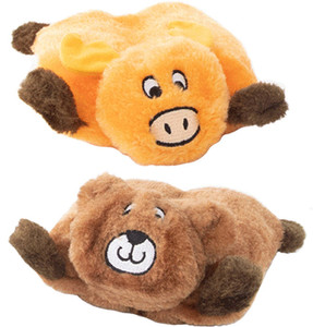 ZippyPaws Squeakie Pads Bear and Moose