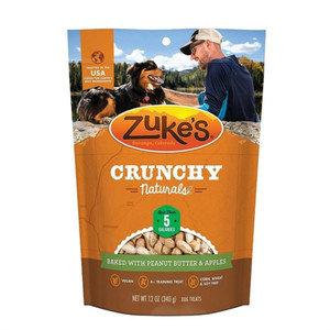 Zuke's Crunchy Naturals Peanut Butter N Apple Dog Treats
