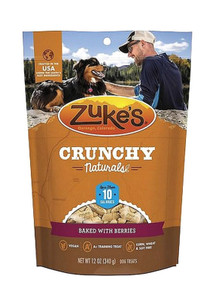 Zuke's Crunchy Naturals Baked Berries 10 calorie dog treats