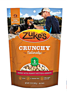 Zuke's Crunchy Naturals 5s Peanut Butter & Berries dog treats