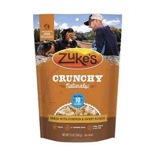 Zuke's Crunchy Naturals 10s Pumpkin N Sweet Potato dog treats