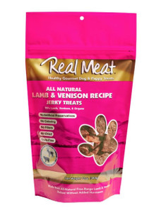 The Real Meat co. Lamb and Venison Dog Treats 12 oz.