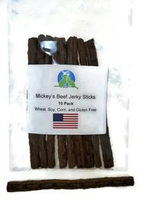 Mickey's Beef Jerky Sticks 10 Pack