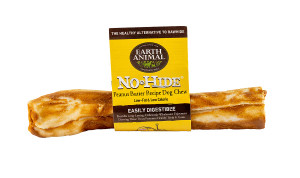 "Earth Animal No Hide Peanut Butter Medium 7"" Dog Chew"