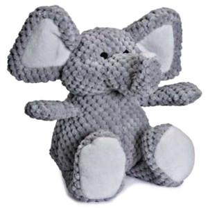 Go Dog Checkers Elephant Dog Toy-Small