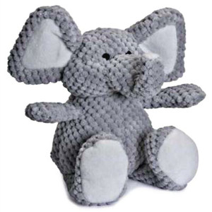 Go Dog Checkers Elephant Dog Toy-Small