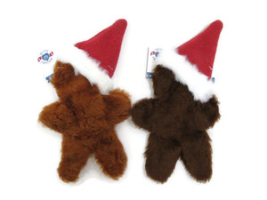 Mutts and Mittens Gingerbread Man Small Dog Toy
