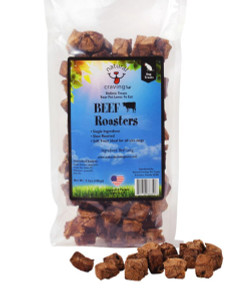 Natural Cravings Beef Lung Roasters Bites 3.5 oz.