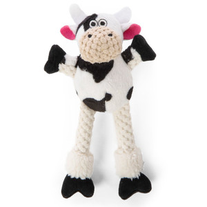GoDog Checkers Skinny Cow Just For Me  Dog Toy