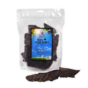 Natural Cravings Beef Liver Jerky 16 oz.