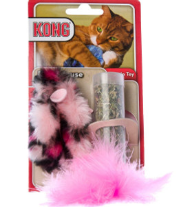 KONG Refillable Field Mouse Catnip Cat Toy