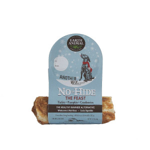 Earth Animal No Hide The Feast- Turkey, Pumpkin and Cranberries 4 inch roll