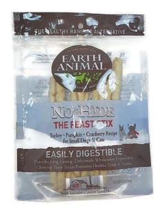 Earth Animal No Hide The Feast- Turkey Stix 10 Pack