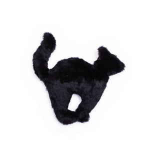 Mutts and Mittens Black Cat Dog Toy