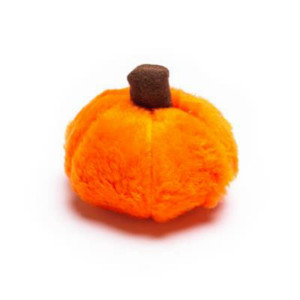 Mutts and Mittens Plush Pumpkin Small Dog Toy