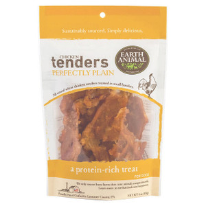 Earth Animal Chicken Tenders Perfectly Plain for dogs with sensitive stomachs