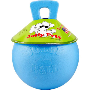 Jolly Pets Tug N Toss Ball Blueberry 6 inch